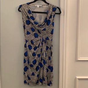 DVF Low Neck Dress